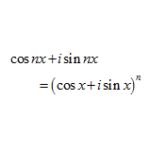 ド・モアブルの定理の導出