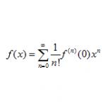 べき級数展開と近似式