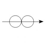 2球の正面衝突