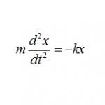 単振動の微分方程式